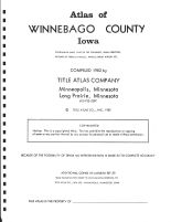 Title Page, Winnebago County 1983